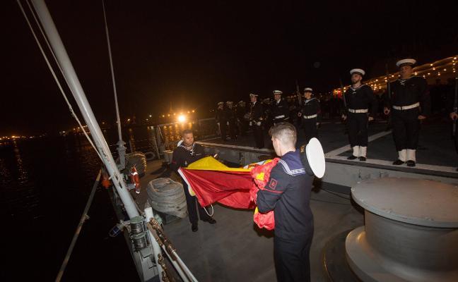 La Armada honra a Pedro Menéndez de Avilés