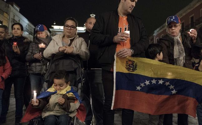 Vigilia por la situación que vive Venezuela