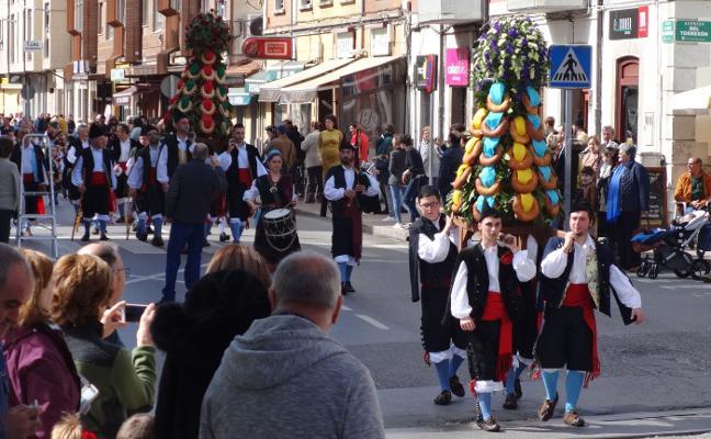 Lección de asturianía por San José en Posada la Vieja