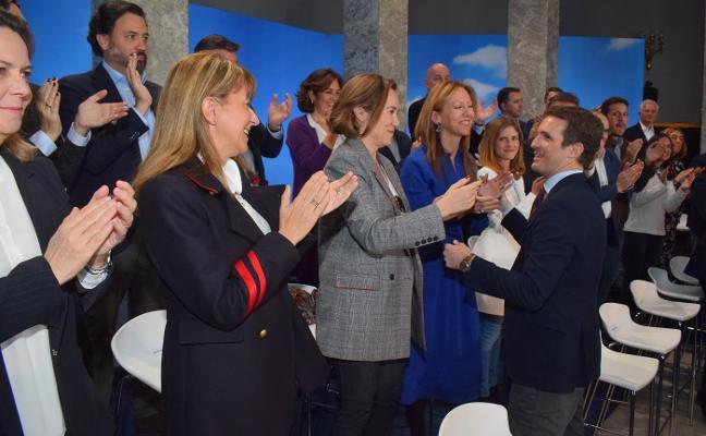 Pablo Casado llama a la «unidad» del Partido Popular en pleno conflicto interno en Asturias