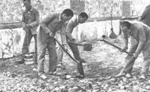 Asturias tuvo 12 campos de concentración franquistas