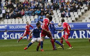 Resumen del partido Real Oviedo - Nástic
