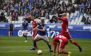 Gol de Christian Fernández en el Real Oviedo 2 - 0 Nástic