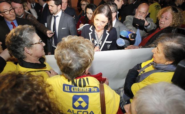 La plantilla de Alcoa urge al Gobierno a presentar un estatuto energético «vital» para las plantas