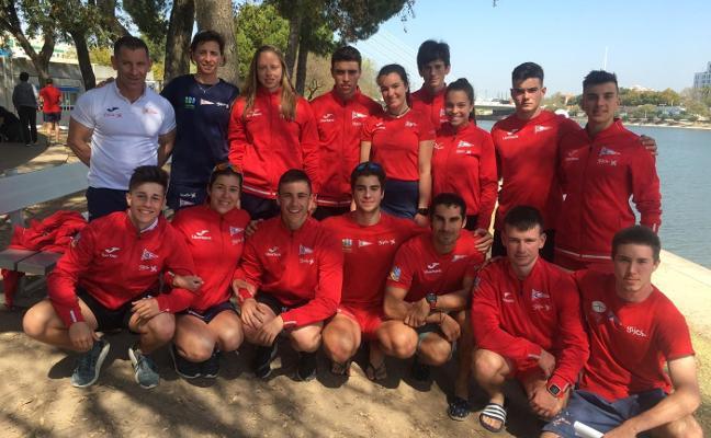 Los palistas brillan en los Campeonatos de España de Invierno