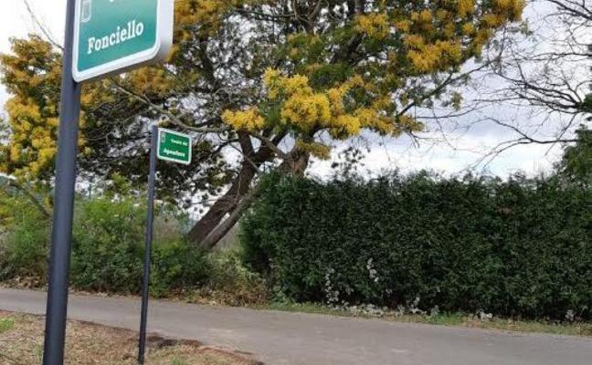 Meres ya dispone de señales con los nombres de los caminos