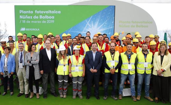 Iberdrola duplicará con energía solar su potencia de la nuclear de Almaraz
