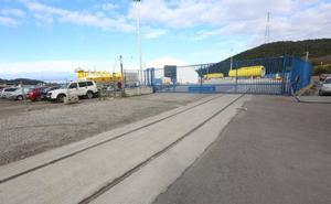 El puerto culmina la conexión ferroviaria de la margen derecha