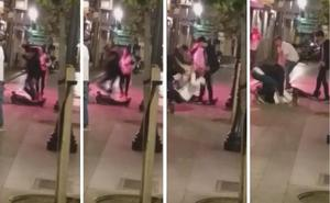 El salvaje ataque de Gijón: «Hacía ademán de clavarle el cuchillo a quien se cruzaba»