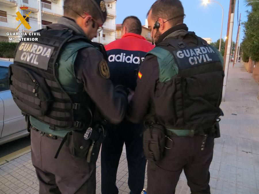 Desarticulan una banda especializada en robos de casas habitadas