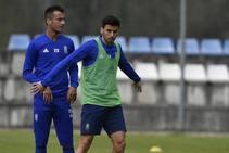 Entrenamiento del Real Oviedo del 20 de marzo de 2019