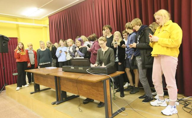 El IES Río Nora cierra un intercambio con alumnos daneses de Nordborg