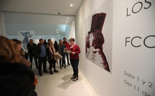 La muestra de Goya tiene tirón femenino