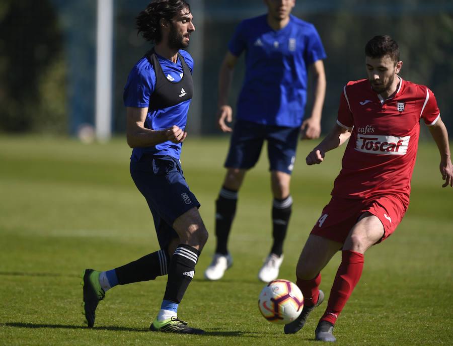 Entrenamiento del Real Oviedo (21-3-19)