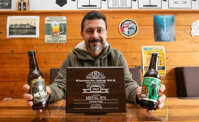 Una cerveza con premio