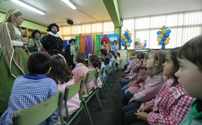 El Adelantado visita el colegio de Villalegre