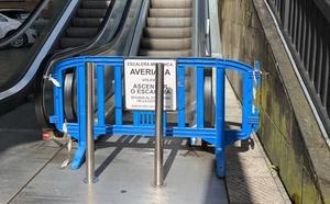 El PP urge el arreglo de una escalera mecánica de La Losa