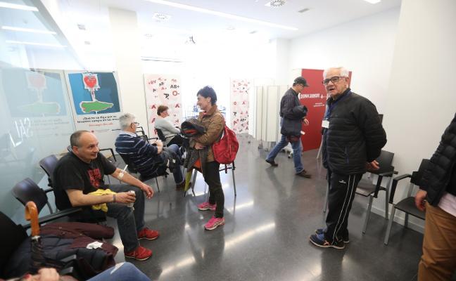 100 donaciones en el Maratón de Sangre de Piedras Blancas
