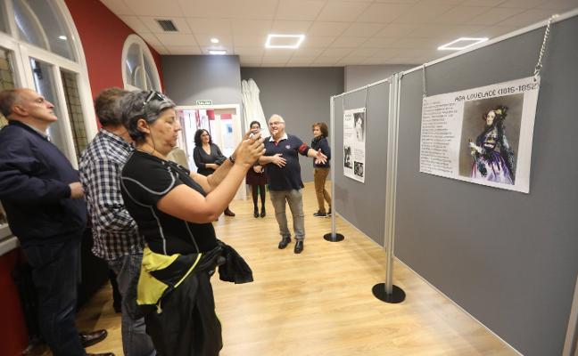 Los Campos exhibe a las mujeres científicas
