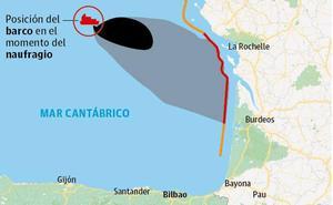 El Principado activa el plan de contaminación marina por el naufragio de un buque ante las costas francesas