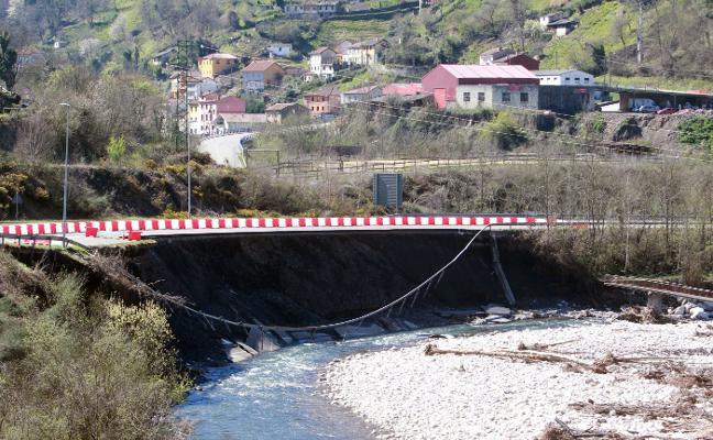 Las obras de reparación del corredor del Aller comenzarán en tres meses