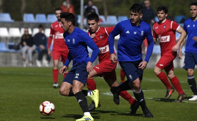 Carlos Hernández y Omar Ramos, las dudas de Anquela para el derbi Sporting - Real Oviedo