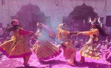 Así es el Holi en la India