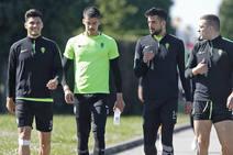 Entrenamiento del Sporting (22/03/2019)
