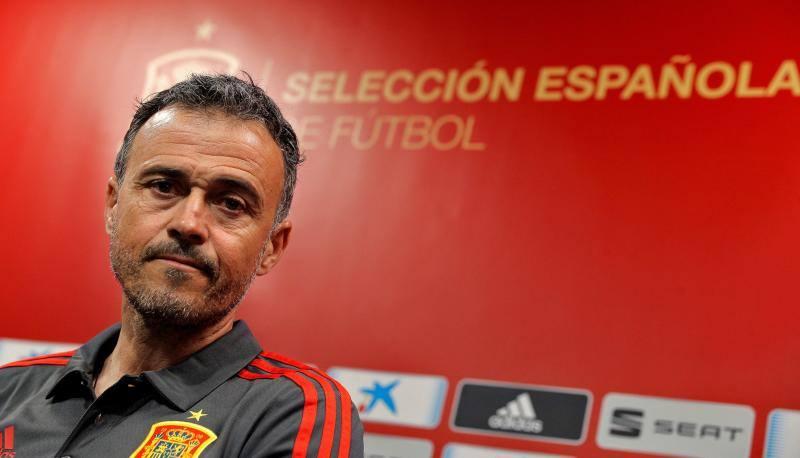 Luis Enrique lo tiene claro: «Evidentemente voy con mi equipo, el Sporting»