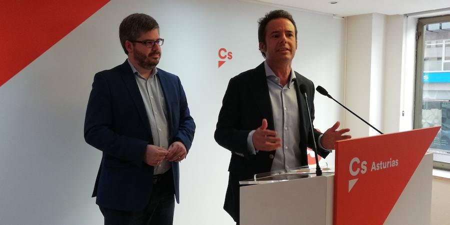 Ignacio Cuesta promete «poner Oviedo en marcha» en su presentación como candidato de Ciudadanos