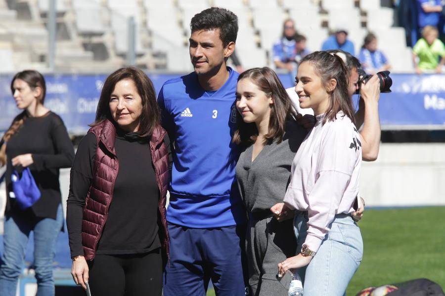 Los oviedistas arropan al Real Oviedo