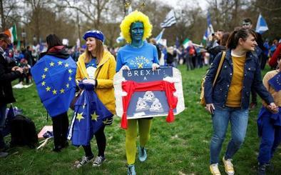 Gran manifestación en Londres por el segundo referéndum