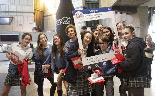 230 alumnos en el concurso de relato de Coca-Cola