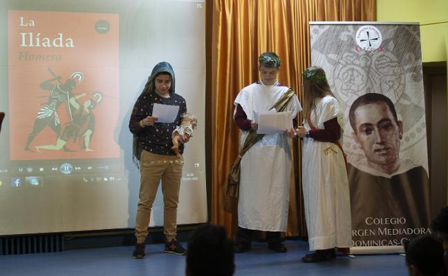 Las Dominicas se suma a la I Lectura Pública Internacional de la Ilíada