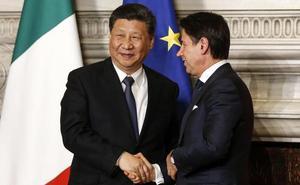Italia entra en la Nueva Ruta de la Seda promovida por China