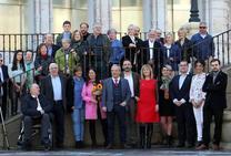 Wenceslao López promete gobernar para «el Oviedo real»