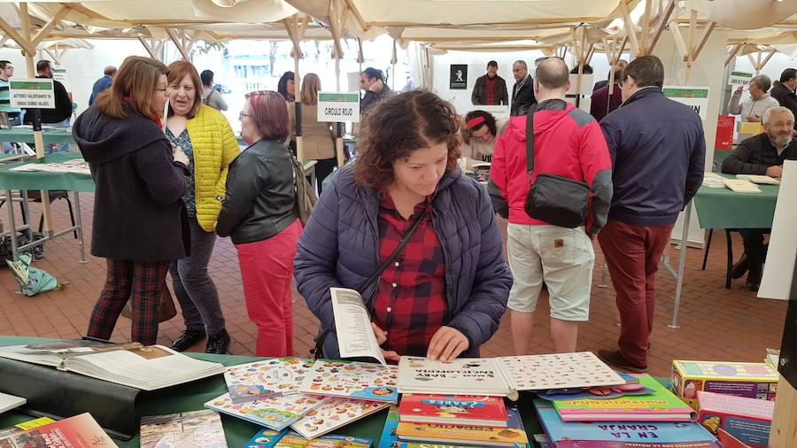 Feria del libro en Luarca