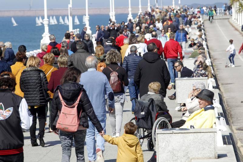 Fin de semana de sol y altas temperaturas en Asturias