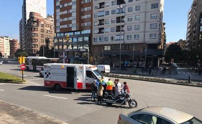 Herido un motorista tras sufrir un accidente en El Humedal