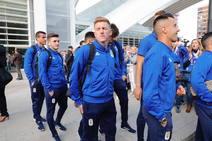 El Real Oviedo pone rumbo a Gijón para disputar el derbi ante el Sporting