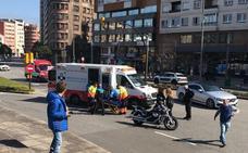 Heridos dos motoristas en El Infanzón y El Humedal