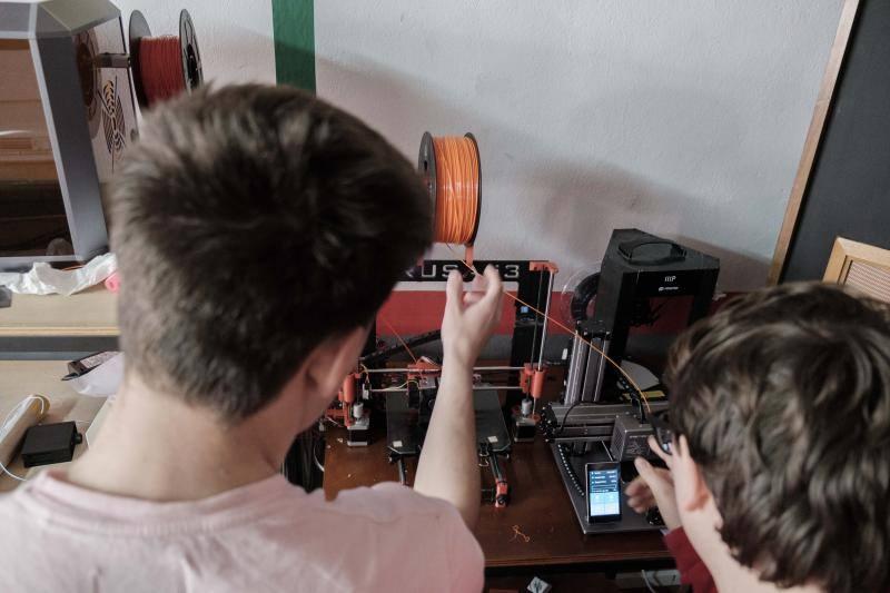 Los alumnos del IES de Laboral demuestran sus habilidades tecnológicas