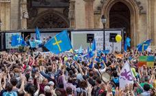 Adrián Barbón sale en defensa de la Academia de la Llingua ante «los ataques de la extrema derecha»