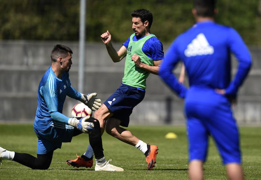 Entrenamiento del Real Oviedo (27-3)