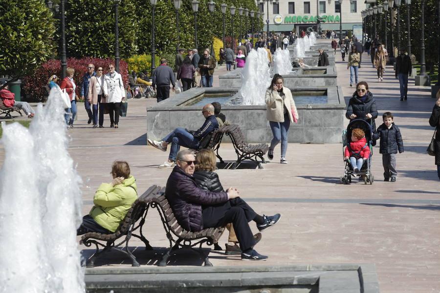 Días de sol para disfrutar de la primavera en Asturias