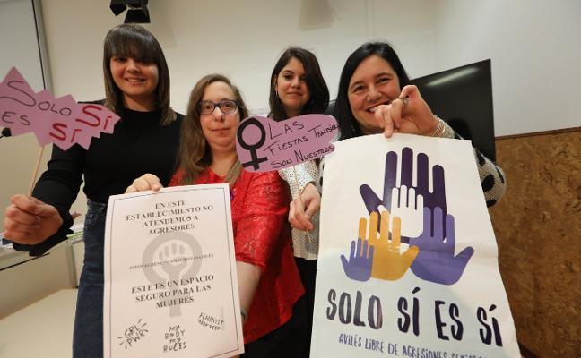 Cinco fiestas tendrán 'punto lila' contra agresiones sexistas
