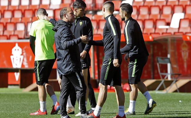 El Sporting solo piensa ya en el Málaga