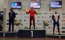 El velocista del Grupo Ricardo Menéndez logra el título de 400 metros en el Mundial máster