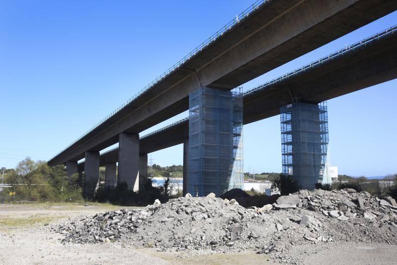 El puente de la 'Y' comienza a repararse