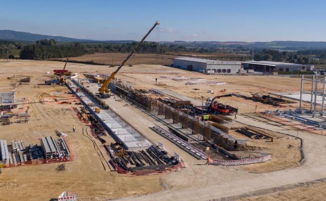 Greenalia construye en Galicia una planta de biomasa como la que proyecta en la ZALIA